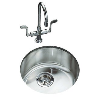 Kohler K-3341-NA Undertone Lyric Undercounter/Self-Rimming Kitchen Sink