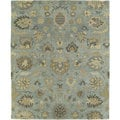 Christopher Kashan Hand-tufted Light Blue Rug (10' x 14')