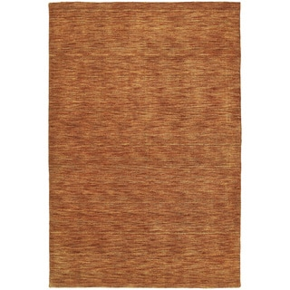 Gabbeh Hand-tufted Paprika Rug (7'6 x 9')