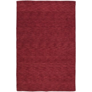 Gabbeh Hand-tufted Red Rug (3' x 5')