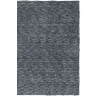 Gabbeh Hand-tufted Charcoal Rug (8' x 11')