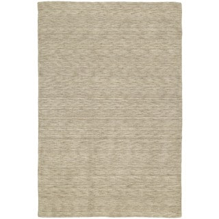 Gabbeh Hand-tufted Gold Rug (7'6 x 9')