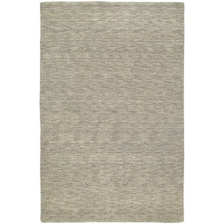 Gabbeh Hand-tufted Light Brown Rug (7'6 x 9')