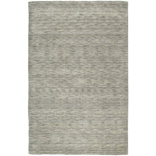 Gabbeh Hand-tufted Grey Rug (5' x 7'6)