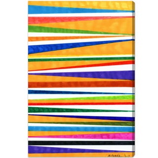 Oliver Gal 'Canotiers in Color' Canvas Art