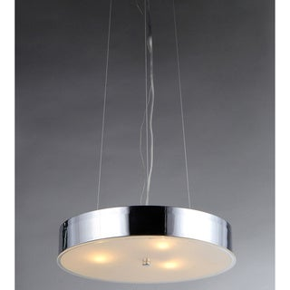 Moon 3-light Chrome Chandelier