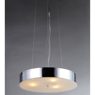 Modern Chrome Chandelier
