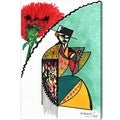 Oliver Gal 'Flamenca' Canvas Art