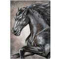 Oliver Gal 'Gray Horse' Canvas Art