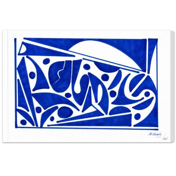 Oliver Gal 'Mediterranean Views' Canvas Art