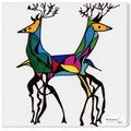 Oliver Gal 'Be Deer' Canvas Art