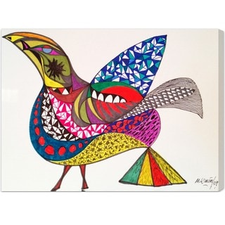 Oliver Gal 'Bird' Canvas Art