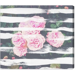Oliver Gal 'Blooming Strokes' Canvas Art