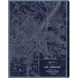 Oliver Gal 'Los Angeles 1899' Canvas Art