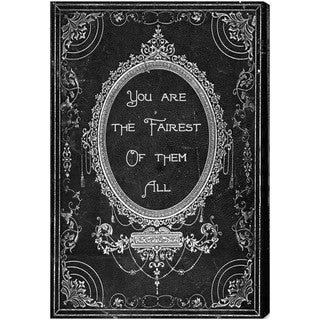 Oliver Gal 'The Fairest' Canvas Art