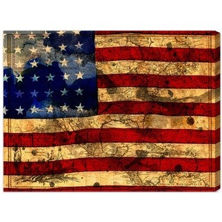 Oliver Gal 'The Flag' Canvas Art