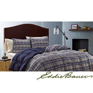 Eddie Bauer Rugged Plaid Down Alternative 3-piece Comforter Set
