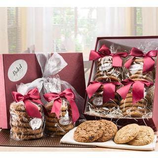 Oatmeal Raisin/ Macadamia Cookies Sampler Gift Box