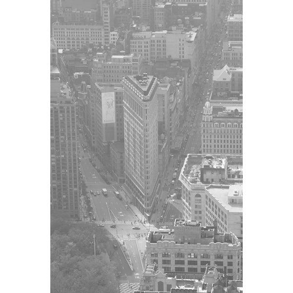 'Manhattan Aerial Views' Photography Canvas Print Wall Art