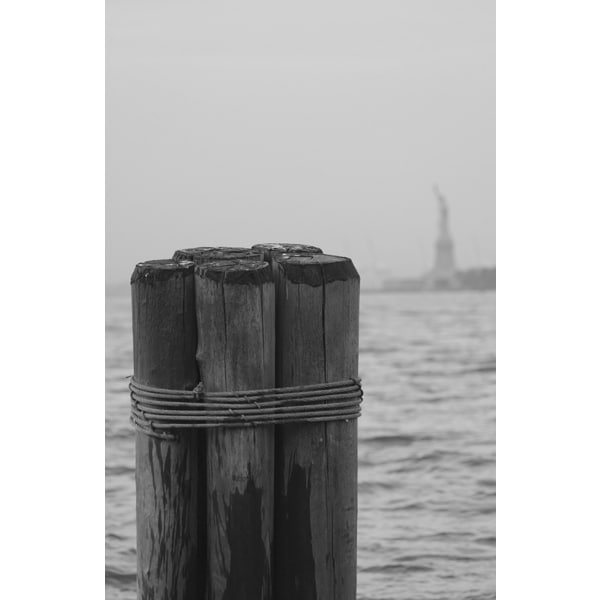 'Statue of Liberty' Photography Canvas Print Wall Art