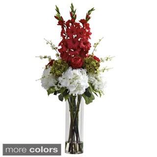 Giant Mixed Floral Arrangement/ Vase