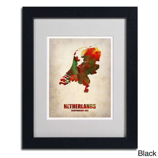 Naxart 'Netherlands' Framed Matted Art