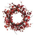 Nearly Natural 24-inch Plum Blossom Wreath
