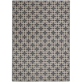 kathy ireland Hollywood Shimmer Steel Rug (3'9 x 5'9)