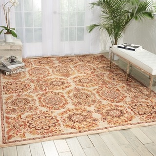 kathy ireland Home Bel Air Ivory Area Rug (9' x 12')