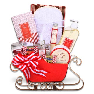 Alder Creek Sleigh of Relaxation Gift Basket