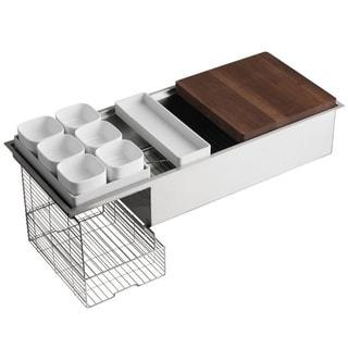 Kohler Stages 45-inch Stainless Steel Kitchen Sink