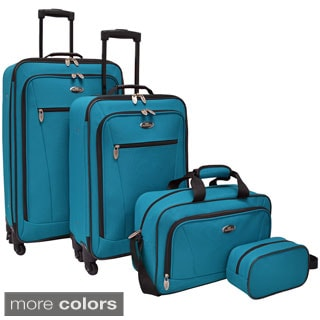 U.S. Traveler Castelon 4-piece Spinner Luggage Set