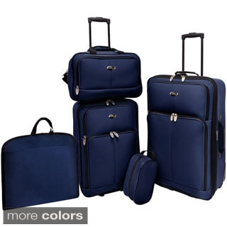 U.S. Traveler San Reno 5-piece Luggage Set
