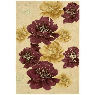 kathy ireland by Nourison Palisades Sand Rug (8' x 10'6)