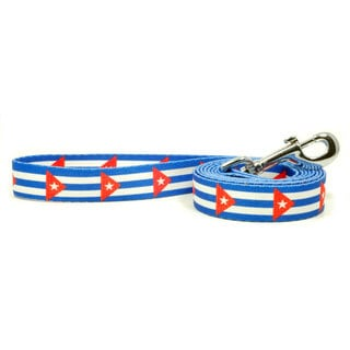 PatriaPet Cuban Flag Dog Leash