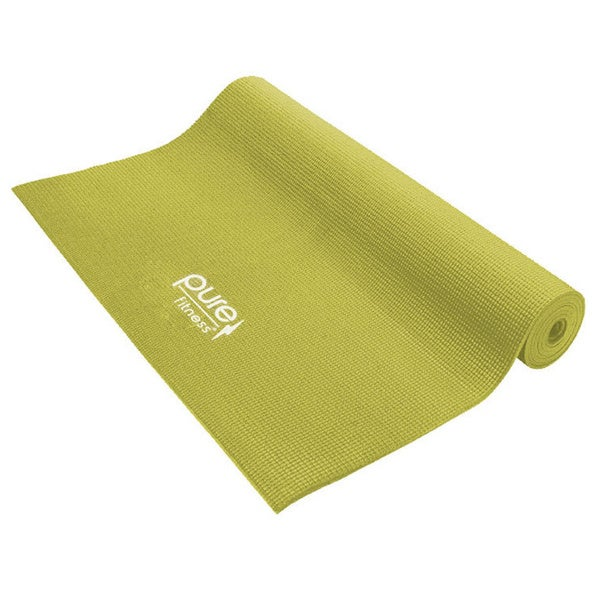 Pure Fitness 3.5mm Lime Yoga Mat