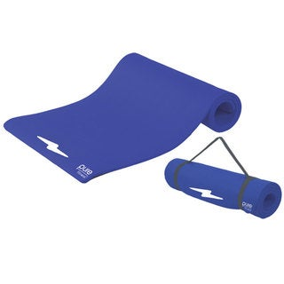 Pure Fitness Blue Iris Deluxe Fitness Mat