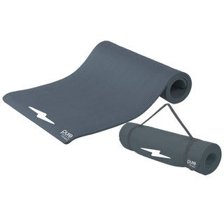 Pure Fitness Deluxe Charcoal Exercise Mat