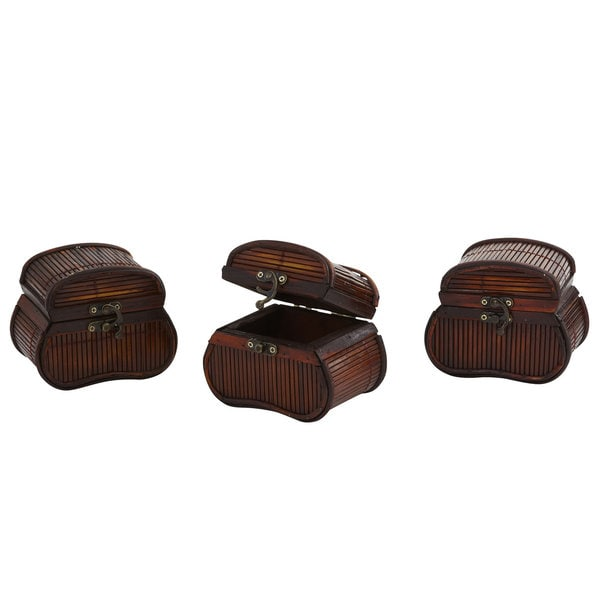 Bamboo Chests (Set of 3)