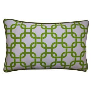 Jiti12 x 20-inch Green Links Pillow