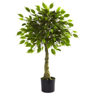 3-foot UV Resistant Ficus Tree