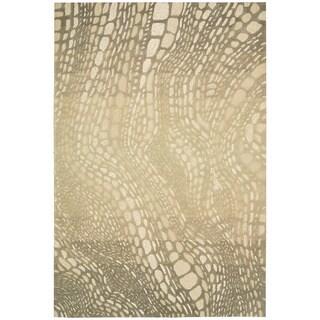 kathy ireland by Nourison Palisades Light Olive Rug (3'9 x 5'9)