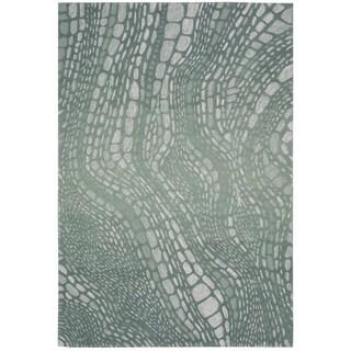 kathy ireland by Nourison Palisades Aqua Rug (3'9 x 5'9)