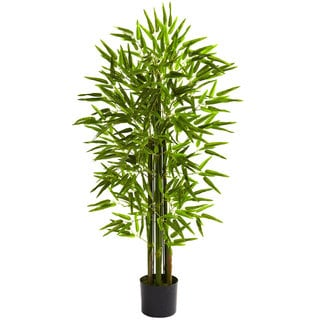 4-foot UV Resistant Bamboo Tree