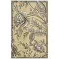 Waverly Artisal Delight by Nourison Ironstone Area Rug (8' x 10')