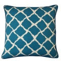 Jiti Teal 20 x 20-inch Net Pillow