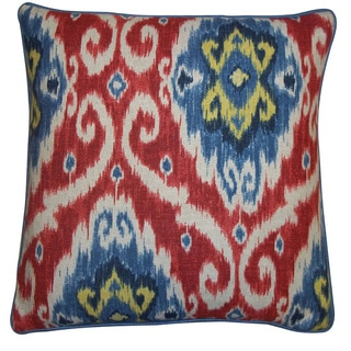 Jiti Red 20 x 20-inch Kyllini Pillow
