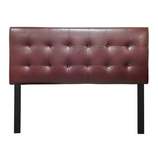12-button Tufted Dan Rust Headboard