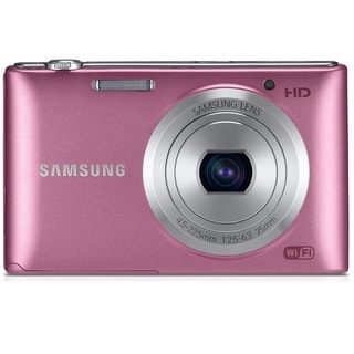 Samsung ST150F Smart 16.2MP Pink Digital Camera