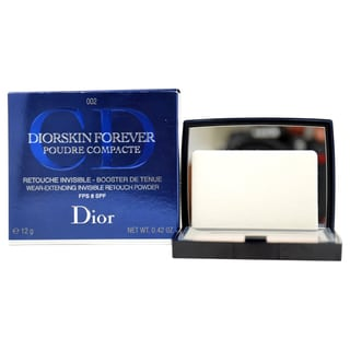 Dior Diorskin Forever 002 Transparent Medium SPF 8 Invisible Pressed Powder
